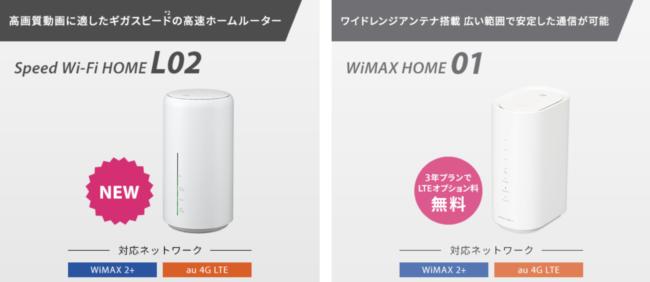 so-net wimax ホームルーター